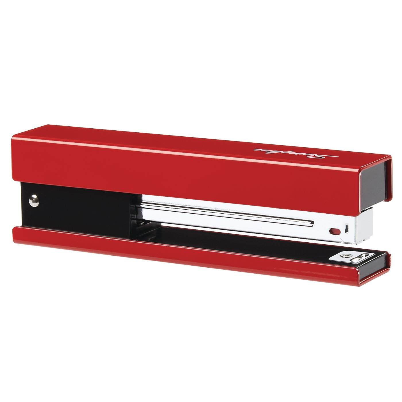 Red//Black Accent S7087831 Desktop Stapler Full Strip 20 Sheets Swingline Stapler